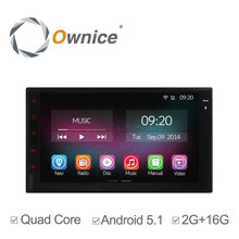 """7 """"HD Android 5.1 Completo Panel Táctil de Navegación GPS Del Coche Reproductor de Radio 2 Din Universal Quad Core Unidad Principal En El Tablero de Coches de Vídeo 2G RAM"""