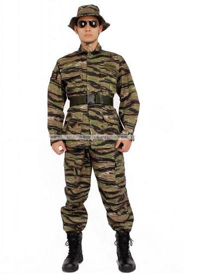 Vietnam Tiger Stripe Camo BDU Uniform Shirt Pant