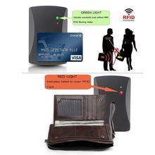 купить Men's Genuine Leather RFID Blocking Long Clutch Wallet Credit Card Holder Money Handbag Purse дешево