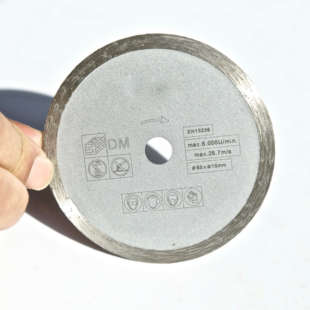 Cooperative Free Shipping 1pc 85*10/15*1.8*4mm Wet Cutting Disc Marching Most Of Brands Mini Saw For Home Diy Marble/granite/tile/cutting