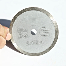Free shipping 1pc 85*15*6mm wet cutting disc with marching most of brands mini saw for home DIY marble/granite/tile/cutting
