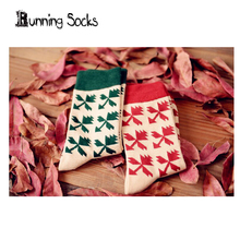 Brand Caramella Maple leaves winter compression women and men's funny lover's Socks Casual Long Sock ysf033