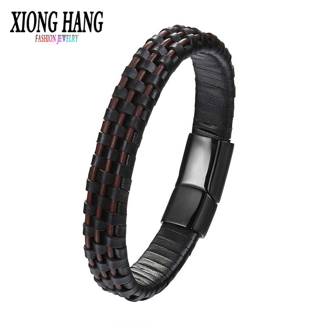 Men Bracelets Genuine...