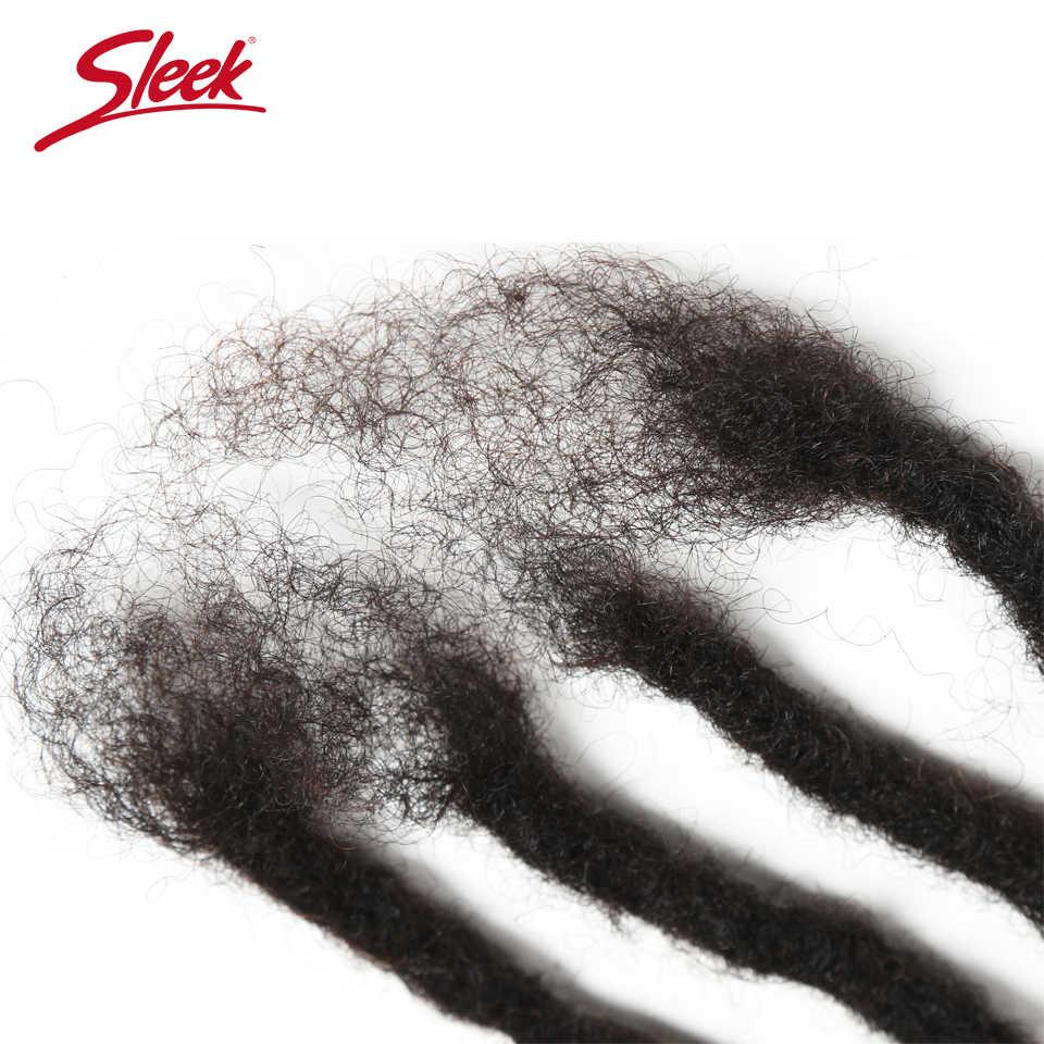 Гладкие и блестящие волосы мягкие вязаные косы дредлок удлинение Remy 60 прядей от 12 до 20 дюймов кудрявые дредлок ручной работы человеческие волосы для заплетания