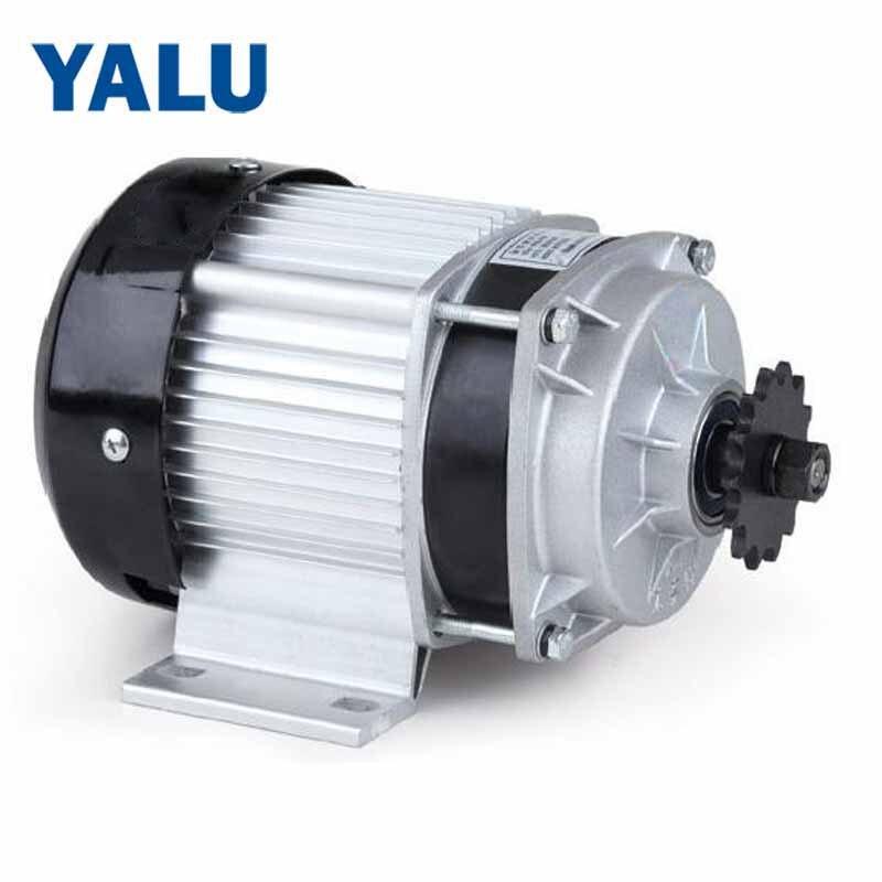 YALU BM1418ZXF 650 W 48 V moteur sans brosse moteur de l'industrie moteur centrifuge électrique moteur à courant continu pour Tricycle trois roues moteur de vélo