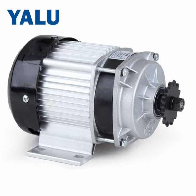 YALU BM1418ZXF 650W 48V Brushless Industry Driver Engine Electric Centrifugal Pump DC Motor for Tricycle Three Wheels Bike Motor