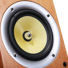 Wood 150W Floor-Standing Speakers 2.0 HiFi Column Sound 6.5 inch speaker Home Professional speakers