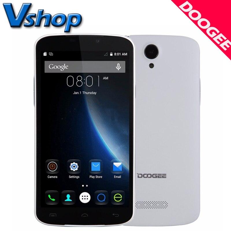 Цена за Оригинал DOOGEE X6 PRO 4G Мобильного Телефона Android 5.1 2 ГБ RAM 16 ГБ ROM MT6735 Quad Core 720 P 5.0MP Камера Dual SIM 5.5 дюймов Сотовый Телефон смартфон