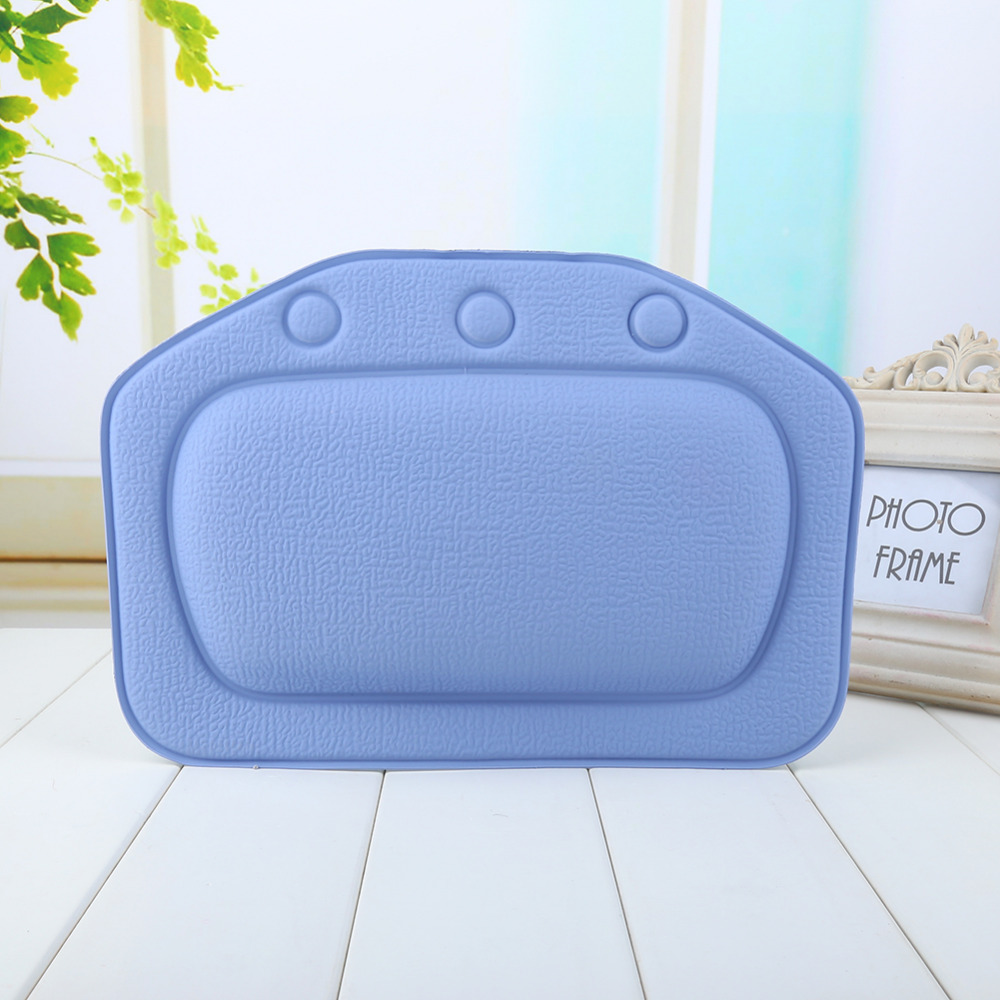 4 Colors Bathroom Supplies Bathtub Pillow Headrest Waterproof PVC ...