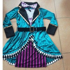 Image 5 - Disfraz de payaso de Alicia en el país de las maravillas para adultos, Halloween, Carnaval, vestido de magia