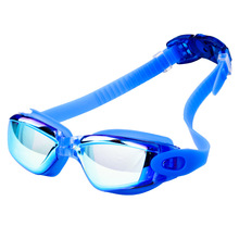Men Women Swimming Glasses UV Protection Anti Fog Goggles Professional Electroplate Waterproof Swim Eyewear