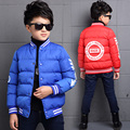 """2016 winter boys coat """"T"""" letter baseball jacket coat boys clothes kids clothing causal outerwear parka for brand boys"""