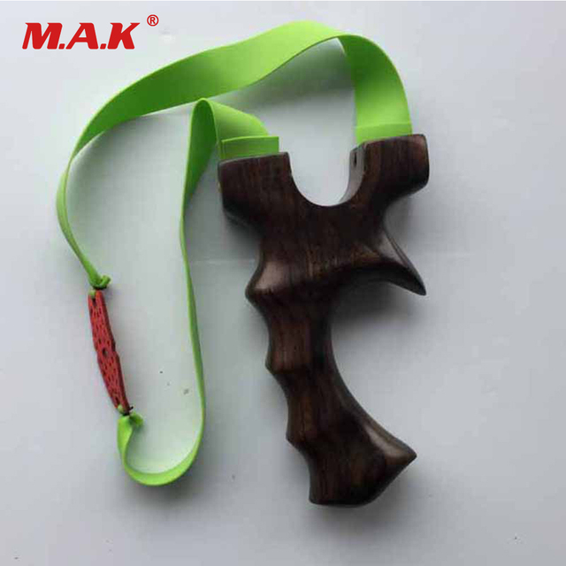 1pc High Quality Wood Slingshot with 3 Powerful Rubber Bands for Hunting Shooting Accessories Archery Catapult