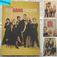 The Big Bang Theory Jim Parsons American movie star Home Furnishing decoration Kraft Movie Poster Drawing core Wall stickers