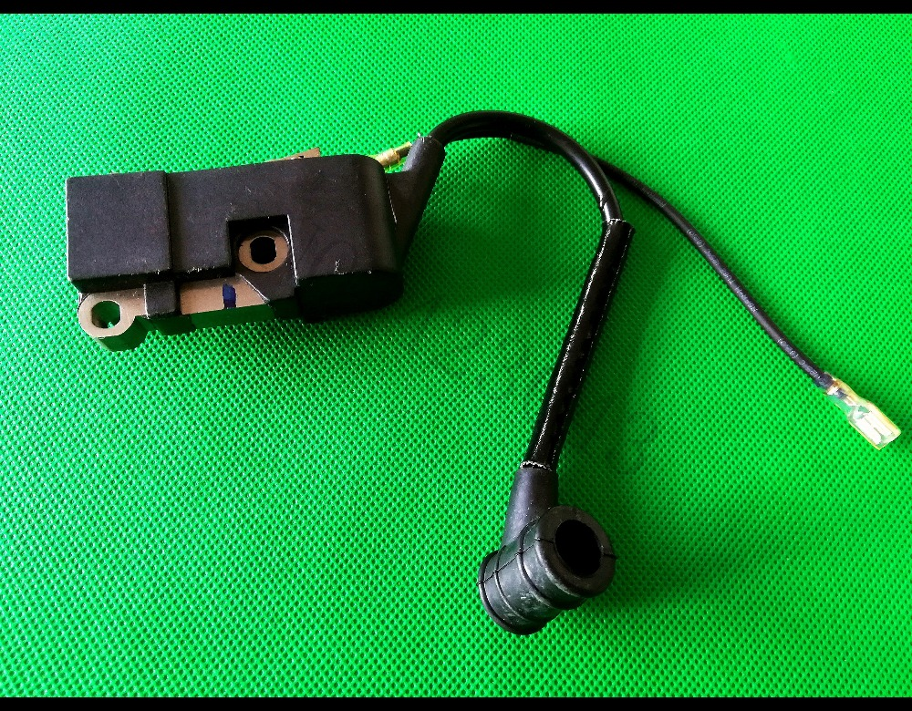 Chainsaw Ignition Coil With Spark Plug Cap For Chinese Chain Saw 45cc 52cc 58cc 4500 5200 5800 Ignition Mould Spares