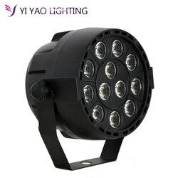 12x3 w 36 W LEVOU RGBW DMX led par luz do estágio 512 8CH mini par iluminação led para club Dj mostrar partido Home Salão De Bandas