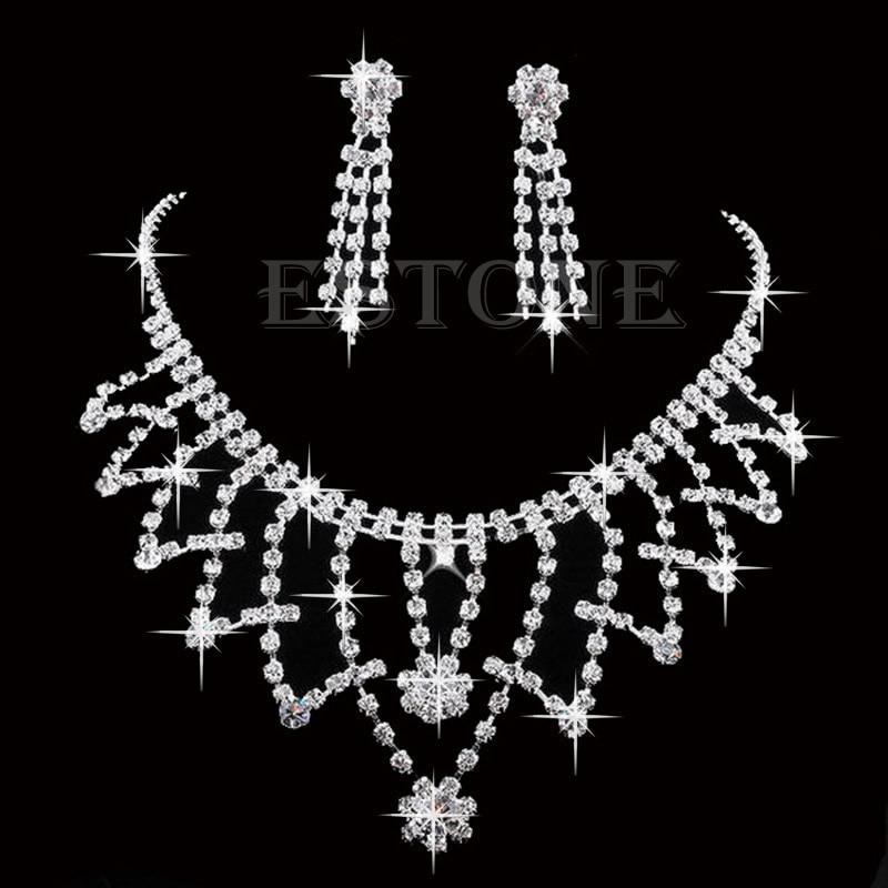 Crystal Rhinestone Necklace...