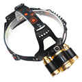 8000 Lumen CREE XM-L T6+2T6 LED Rechargeable Head Torch 4 Mode Headlamp Flashlight Head Light for 18650 battery