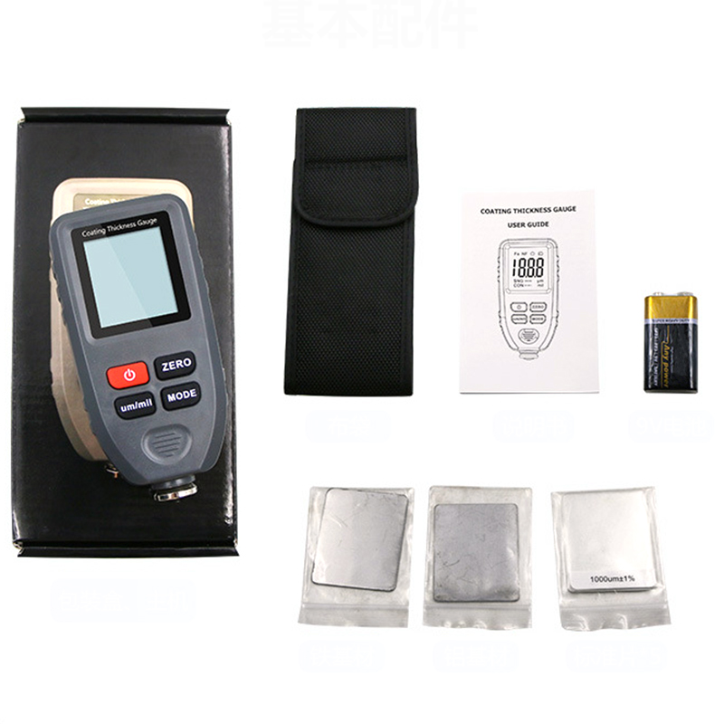 Electronic Thick-measuring Digital Tomography Coating Instrument Automobile Paint Electroplating Testing  Coating measure PaintElectronic Thick-measuring Digital Tomography Coating Instrument Automobile Paint Electroplating Testing  Coating measure Paint