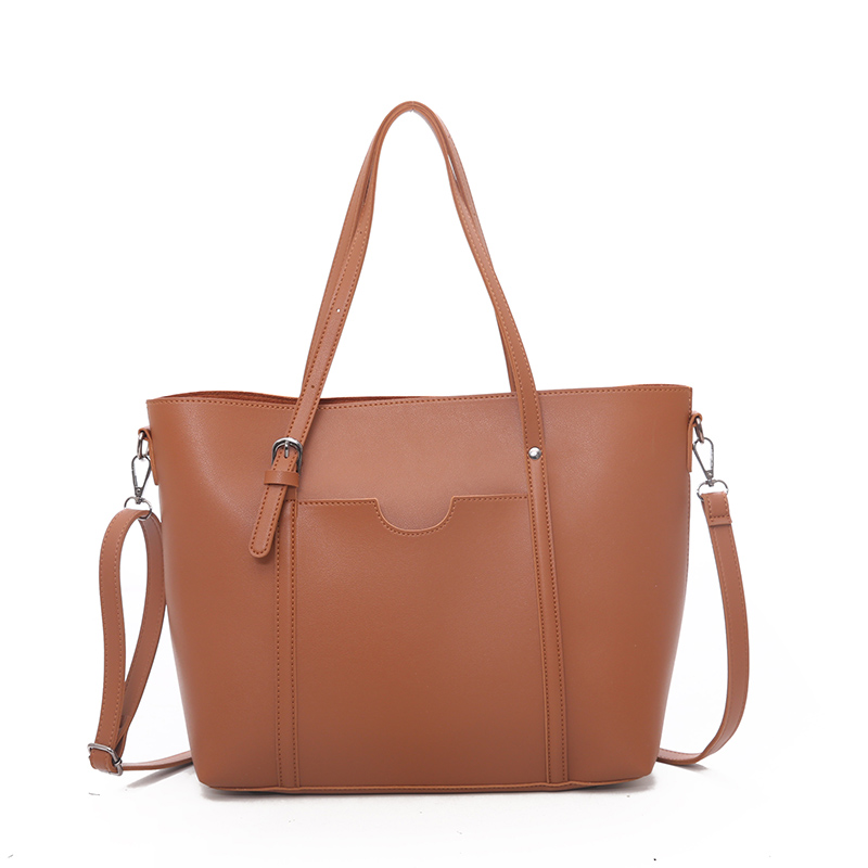 Image 2 - 2019 big Women Handbag Leather Women Shoulder Bags  Designer  Women Messenger Bags Ladies Casual Tote Bags sac a main-in Shoulder Bags from Luggage & Bags