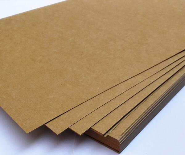 230gsm A4 Plain Matte Brown Kraft Paper Card Stock For Scrapbook Craft Cardmaking 2/10/30/50pcs You Choose Quantity