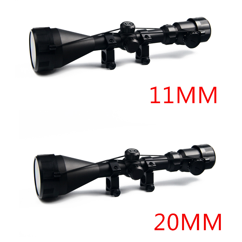 3-9x56 Hunting Red And Green Illuminated Air Rifle Optical Hunting Scope Sight Optics Hunting Scope HT6-0020