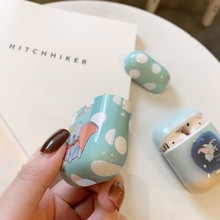 cute kawaii DUMBO little elephant case for Airpods lovely cartoon image perfect design Apple Airpods2 bluetooth earphone