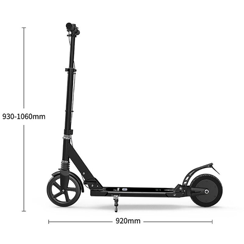 Scooter électrique facile à plier auto-équilibre planche à roulettes électrique Escooter Hoverboard Ebike Scooter électrique monocycle adulte LongBoard - 5