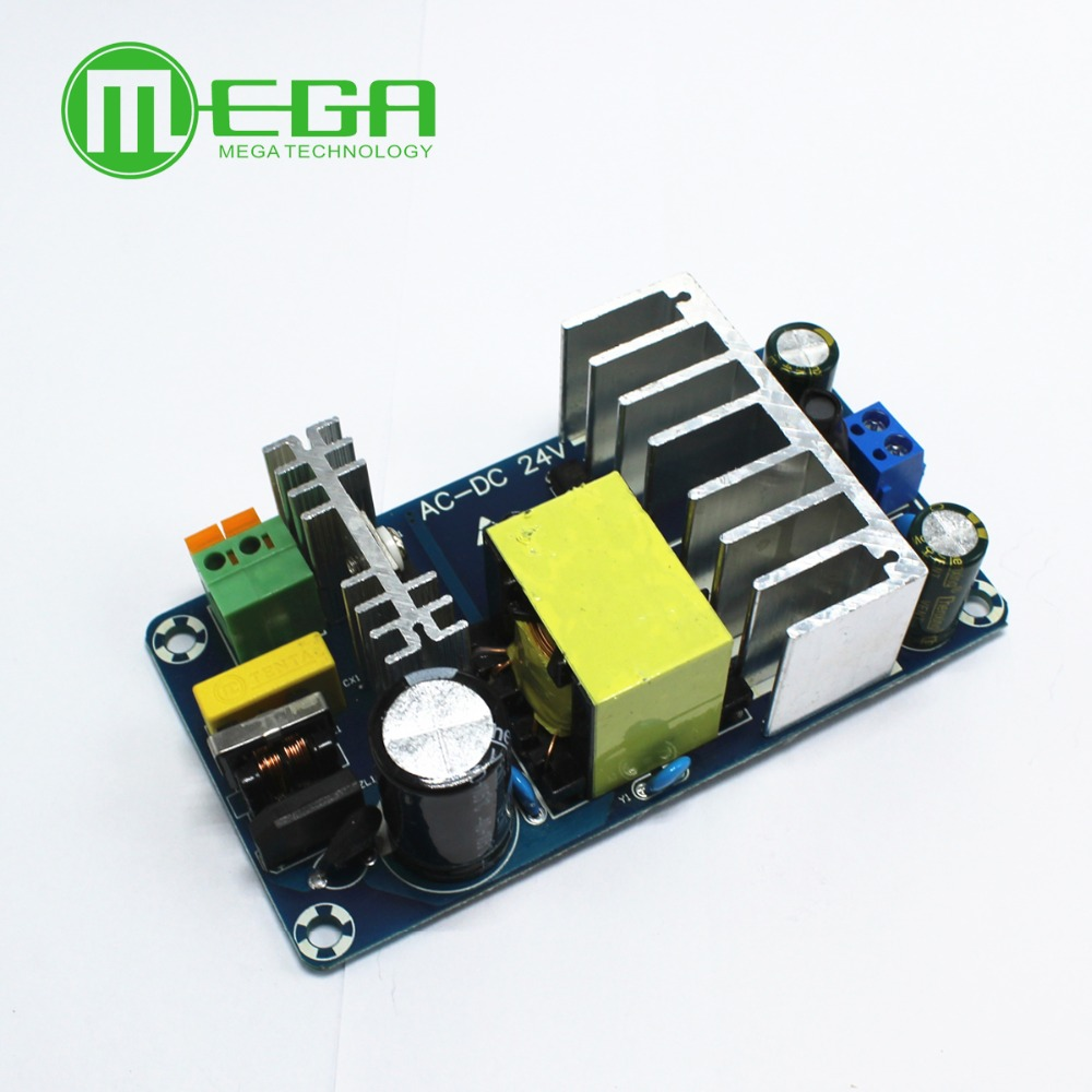 C102 10PCS/LOT AC 100-240V to DC 24V 4A 6A switching power supply module AC-DC