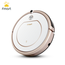 Fmart ZJ C1 Smart Robot Vacuum Cleaner Cleaning Appliances 128ML Water Tank Wet 300ML Dustbin Sweeper
