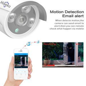 Image 5 - Hiseeu 4CH 1080P Wireless CCTV Camera System Wifi 2pcs 2MP Metal Waterproof IP Camera Outdoor Security Video Surveillance Kit