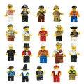 20pcs Different Figures Classic DIY Figures Men People figures Building Blocks Bricks Toys figures Gift