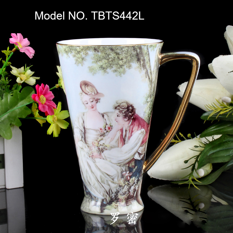 Coffee Mugs Online Bone China Ceramic Tea Cup Milk Oil Painting Romeo And Juliet Large In From Home Garden On