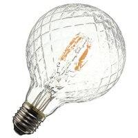 E27 4W Pineapple Ultra Bright COB LED Vintage Antique Edison Filament Bulb Light Lamp Warm White
