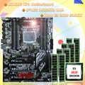 מחשב חומרת אספקת Runing X79 האם Intel Xeon E5 2620 SROKW 2.0 ghz RAM 128 גרם (8*16 גרם) DDR3 1600 mhz REG ECC להבטיח איכות
