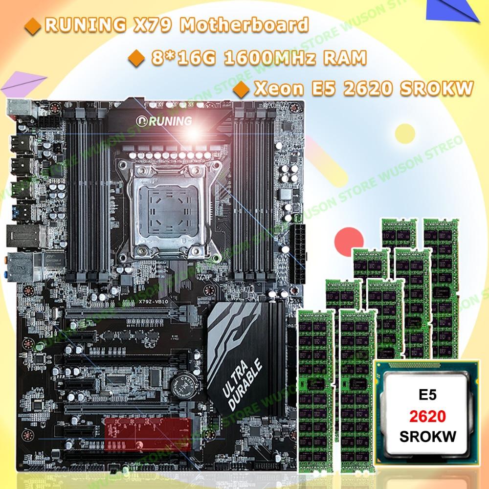 PC hardware supply Runing X79 motherboard Intel Xeon E5 2620 SROKW 2.0GHz RAM 128G(8*16G) DDR3 1600MHz REG ECC quality guarantee pc hardware supply runing x79 motherboard intel xeon e5 2620 srokw 2 0ghz ram 128g 8 16g ddr3 1600mhz reg ecc quality guarantee