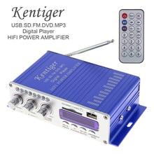 Hy502 цифровой Дисплей Hi-Fi 50Wx2 2ch стерео Мощность Усилители домашние AMP Поддержка для IPOD/USB/MP3/FM /SD Jack Вход