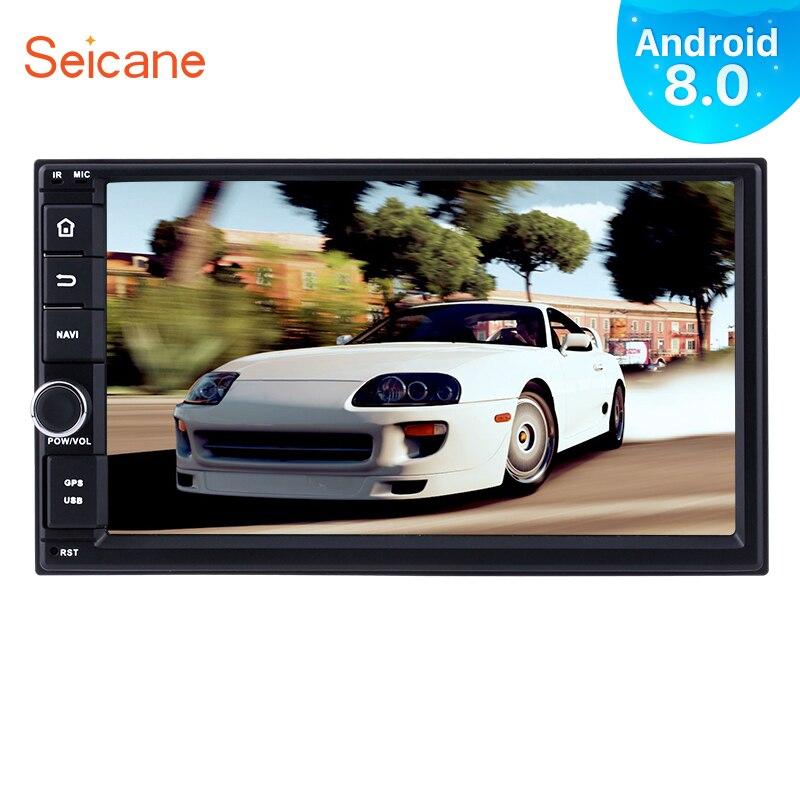 Seicane Android 9.0 7 inch 2Din Car Radio GPS Multimedia Player For Universal NISSAN TIIDA TOYOTA RAV4 Daihatsu KIA rio sedona