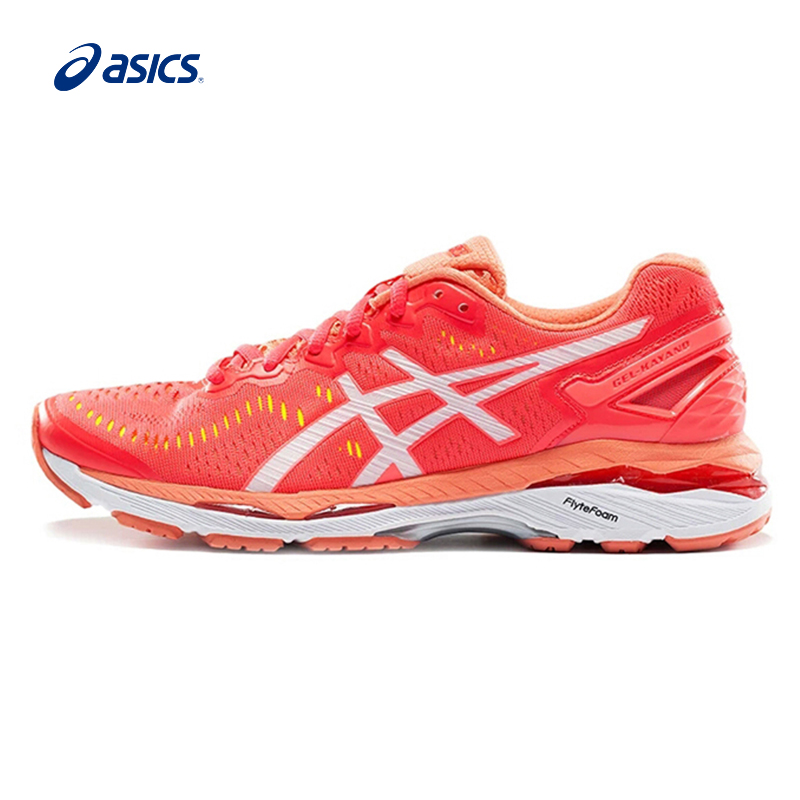 Original ASICS Women Shoes GEL-KAYANO 23 Breathable Stable Running Shoes Encapsulated Light Sports Shoes Sneakers