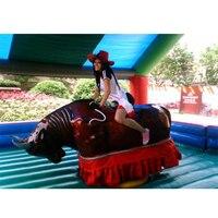 Hot mechanical bull sport,bullfighting machine combination