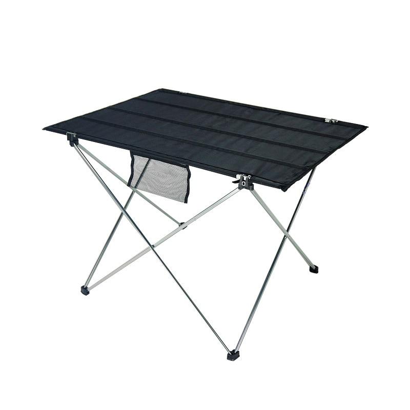 Portable Aluminium Alloy Ultra-light Folding Table Desk Small Size Foldable Folding Table Desk Camping Outdoor Picnic