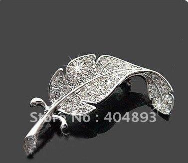 Free Shipping Broochs, Hot Sale Brooch, Wholesale Rhinestone Brooch K001