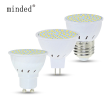 GU10 Led Spotlight Bulb E27 MR16 Lamp 220V 48 60 80 Leds 2835 SMD Energy Saving Bombillas Lampada for Home Lighting