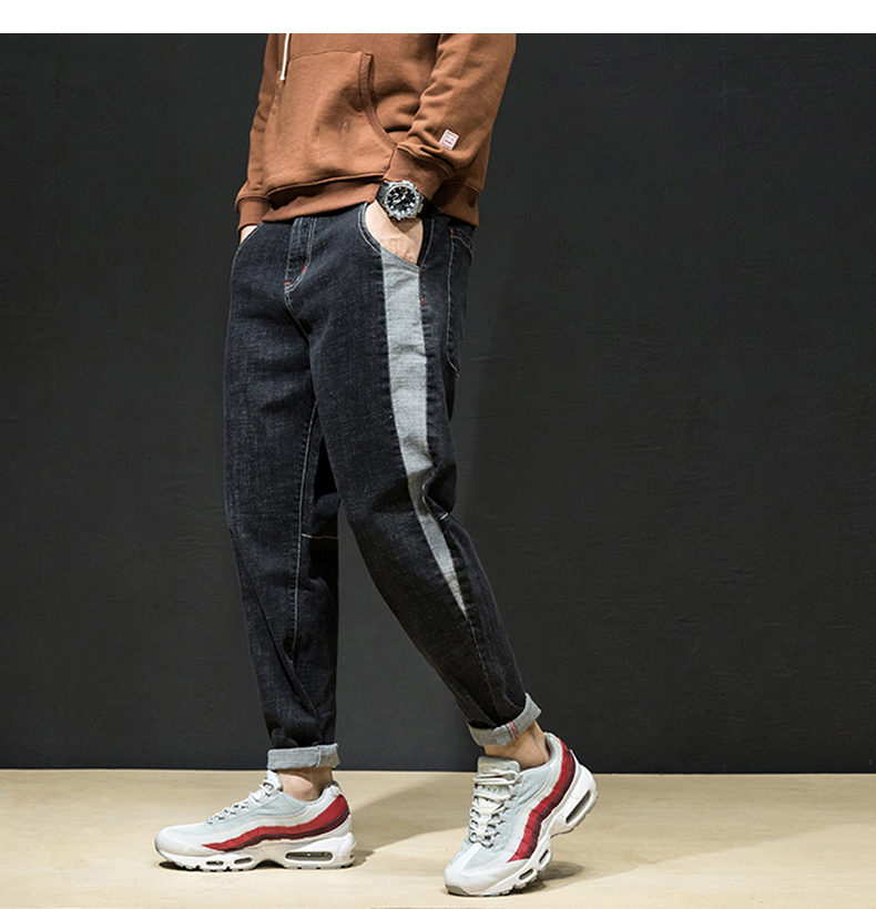 KSTUN Men Joggers Casual Men Pants Male Korean Fashion Trousers Harem Pants Men Spring and Autumn Big Crotch Baggy Teenage Boys 19