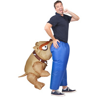 Dog Bite Ass Adults Inflatable Costumes Holiday Carnival Costume Funny Party Dress Animal Cosply Halloween Clothes For Adults