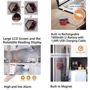 Image 5 - Термометр для печи барбекю Inkbird, Аккумуляторный термометр для печи барбекю с 6 зондами, Bluetooth, подключен к 50 м/150 футов, с магнитным таймером и будильником