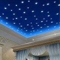 100 Unids/set Fluorescente Luminosa Estrella Pegatinas Para Habitaciones de Niños Decoración Vinilos Paredes DIY 3D Etiqueta de La Pared Estrellas Brillan En la Oscuridad