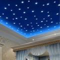 100Pcs/Set Luminous Fluorescent Star Stickers For Kids Rooms Decor Vinilos Paredes DIY 3D Wall Sticker Stars Glow In Dark
