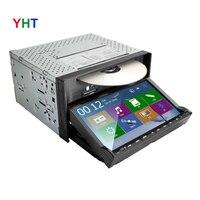 Free Camera DVD CD Radio Car Player GPS Navigation USB Map 3G Bluetooth In dash 2Din Universal Interchangeable