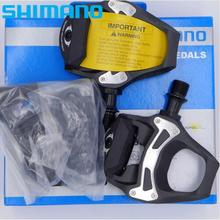 SHIMANO 105 PD-5800 SPD-SL Carbon Road Bike Pedals With SM-SH11 Cleats